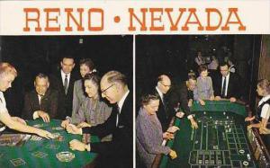 Nevada Reno Typical Gambling Casino Views From Harolds Club