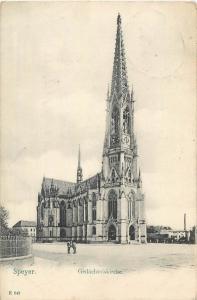 Speyer church Germany 1909