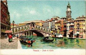 CPA AK VENEZIA Ponte di Rialto ITALY (523096)