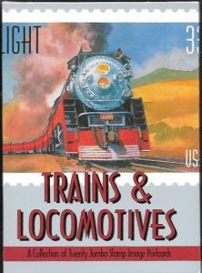 US Trains and Locomotives . 20 Jumbo 5X7 Postcards. #922, 993, 1006, 2362-66 . .