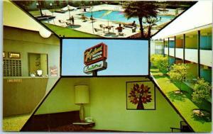 Santa Barbara, California Postcard VAGABOND MOTOR HOTEL 2819 State Street c1960s