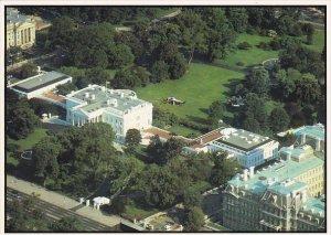 Aerial View Of White House Washington DC