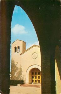 Dallas TX~Sperry Chapel~Cloister Arch~Dallas Theological Seminary~1961