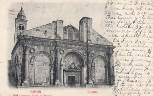RIMINI (Emilia-Romagna), Italy, 1904 : Duomo
