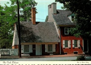 Delaware New Castle Old Dutch House 1975