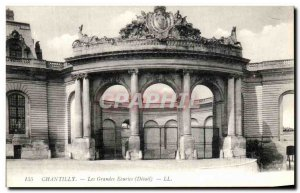 Old Postcard The Great Chantilly stables