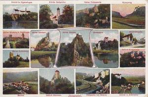 15- Different Views Of Donautal, Germany, 1900-1910s