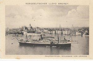 Nordeutscher Lloyd Bremen Oceanliner Schleswig at Venice , Italy , 20-30s