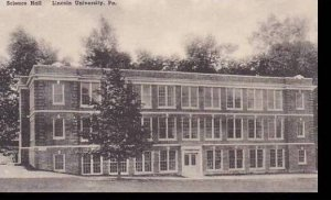 Pennsylvania Lewisburg Science Hall LincolnUniversity Albertype