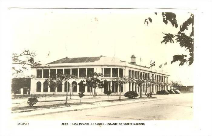RP: Beira ,Mozambique, 1910-30s ; Casa infante de Sagres