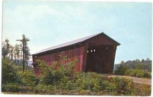 Covered Bridge #01 Athens County near Glouster Ohio, OH Chrome