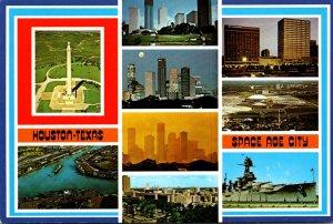 Texas Houston The Space Age City Multi View