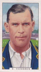 E Patsy Hendren Manchester City Football Cricket 1930s Cigarette Card