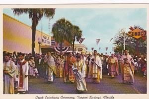 Florida Tarpon Springs Greek Epiphany Ceremony