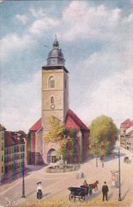 Germany Gotha Margaretenkirche am Neumarkt