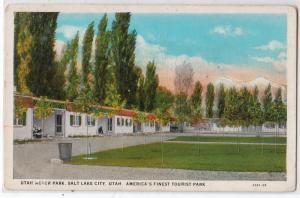 Motor park, Tourist Park, Salt Lake City UT