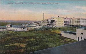 SIOUX FALL, South Dakota, 1900-1910's; Morrell and Co. Packing Plant