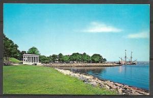 Massachusetts, Plymouth - Plymouth Rock Portico & Mayflower II - [MA-359]