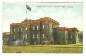 Walker's Offices, Walkerville, Ontario, Canada, PU-1910