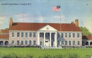 Catskill High School Catskill NY Unused