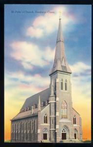 Beautiful Danbury, Conn/CT Postcard, St. Peter's Church