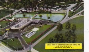 North Carolina Rocky Mount Aerial View Of Mosley's Shady Lake Motel 1969