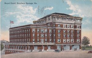 EXCELSIOR SPRINGS , Missouri, 1918; Royal Hotel