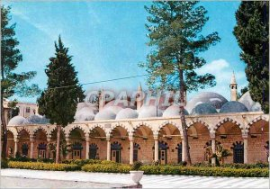 Postcard Modern Damascus, the Court of Sultan Selim Mosque