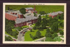 North Carolina colour PC air view Shelby Hospital Shelby