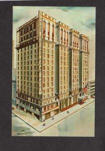 NYC NY Times Square Motor Inn Hotel New York City Postcard