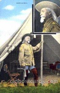 Colonel W.F. Cody, Buffalo Bill, Barnum & Bailey Circus, Postcard Post Card 1947