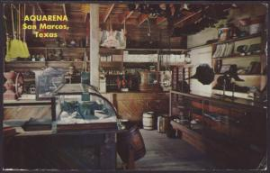 Ole General Store,Texana Village Postcard BIN