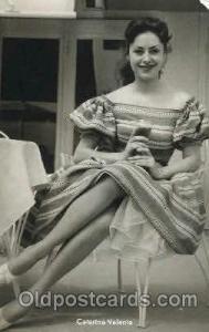 Caterina Valente Actor, Actress, Movie Star, Postcard Post Card Actor Actress...