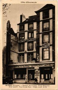 CPA St-MALO (Bretagne) - Brasserie Armoricaine - Grand Restaurant (298203)