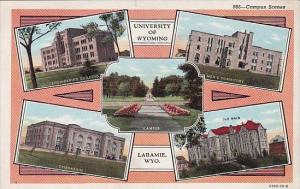 University Of Wyoming Campus Scenes Laramie Wyoming