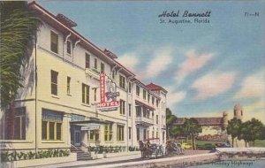 Florida St Augustine Hotel Bennett