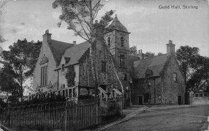 Stirling Guild Hall 1913 Postcard