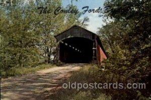 Bridgeton, Indiana USA Conley Ford Bridge Unused