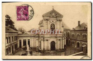 Old Postcard The Chapel of the Carmelites of Lisieux