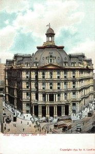 Old Post Office, New York City, Early Postcard, 1895 Postcard, Unused