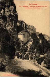 CPA  Mende - Ermitage de Saint-Privat - Arrivée d'un Pelerinage  (638508)