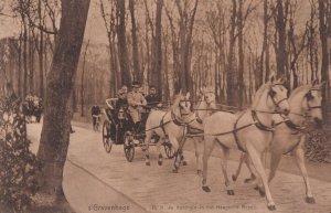Gravenhage HM De Koningin Haagsche Bosch Holland Postcard