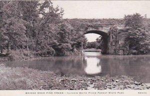 Illinois Bridge Over Pine Creek