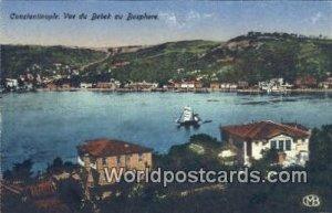 Vue du Bedek au Bosphore Constantinople, Turkey Postcard Post Card, Kart Post...
