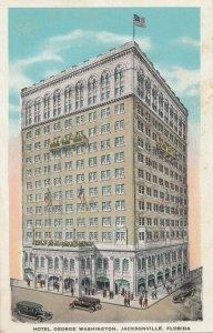 JACKSONVILLE, Florida, 1910-20s; Hotel George Washington