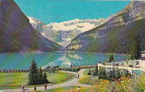 Canada Alberta Lake Louise Banff National Park 1958