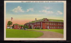 North Carolina postcard Elzabeth City Teachers College