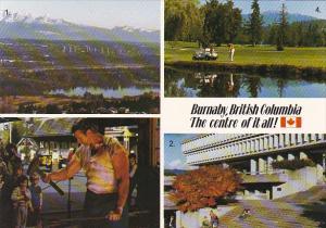 Canada Burnaby Multi View British Columbia