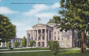 North Carolina Raleigh North Carolina State Capitol 1946