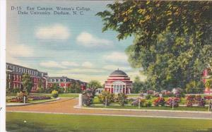 North Carolina Durham East Campus Women's College Duke University Curteich